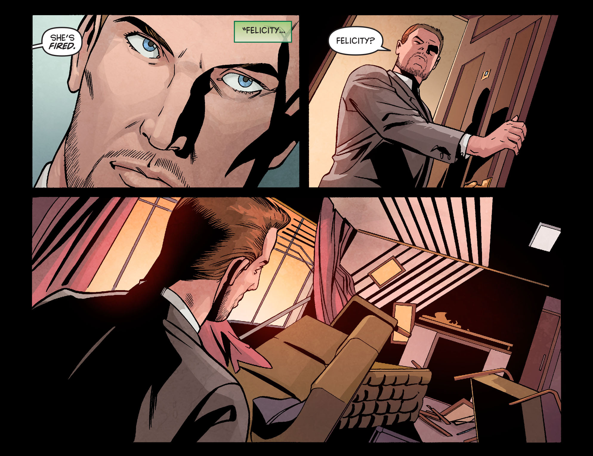 Read online Arrow: Season 2.5 [I] comic -  Issue #10 - 16