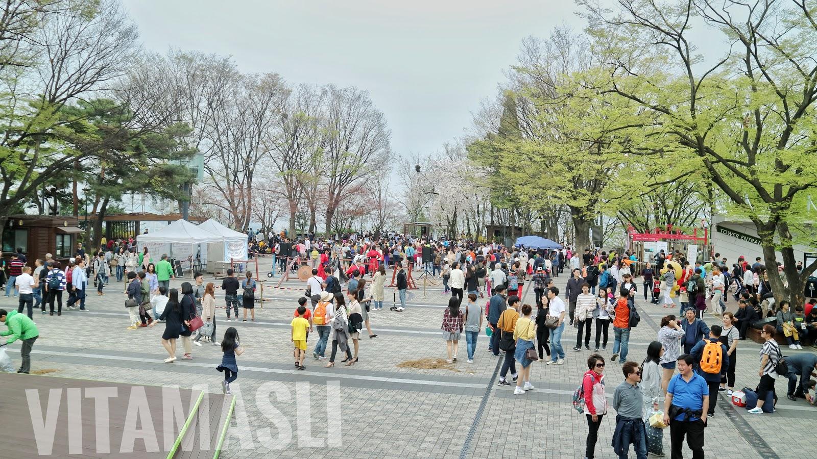 Seoul Korea Spring