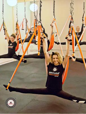 certificacón yoga aéreo