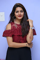Pavani Gangireddy in Cute Black Skirt Maroon Top at 9 Movie Teaser Launch 5th May 2017  Exclusive 078.JPG