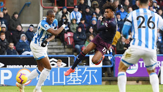 alex iwobi volley huddersfield