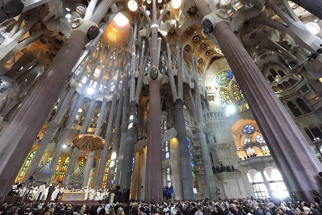 西班牙聖家族大教堂 - 歐洲旅遊景點 / 歐洲觀光景點: 西班牙聖家族大教堂