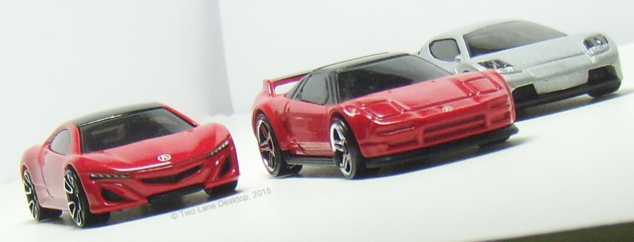 Two Lane Desktop History Of The Nsx From Hot Wheels 1990