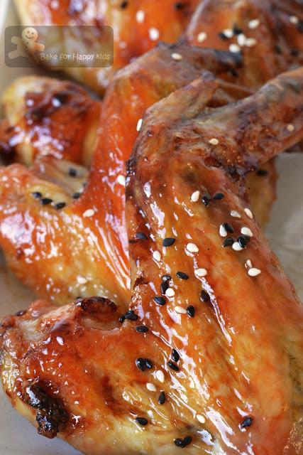 Japanese sticky sesame chicken wings Bill Granger