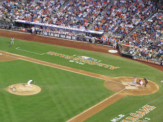 First pitch, 2013 All-Star Game
