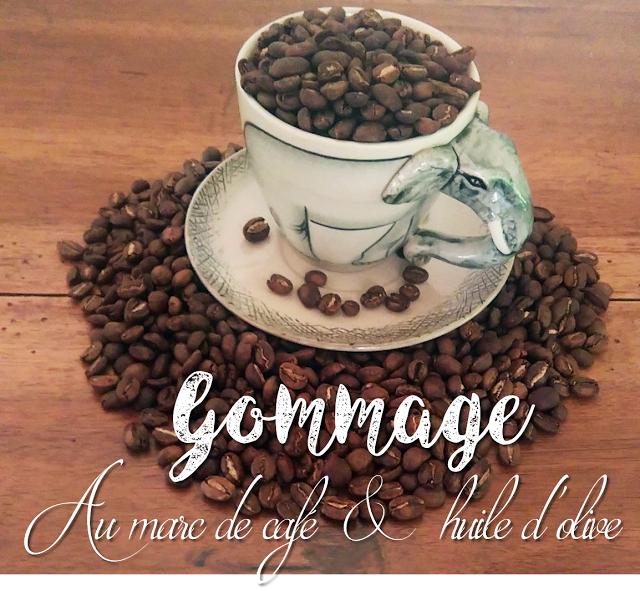 Beauty - Gommage - marc de café - Huile d'olive - exfoliating scrub