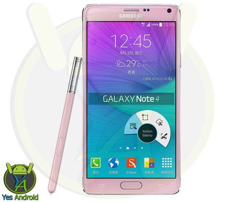 N9100ZHS1CPG1 Android 5.1.1 Galaxy Note 4 SM-N9100