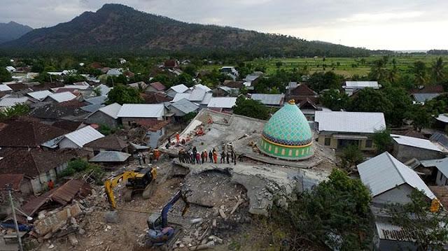 Pemerintah Putuskan Gempa Lombok Bukan Bencana Nasional
