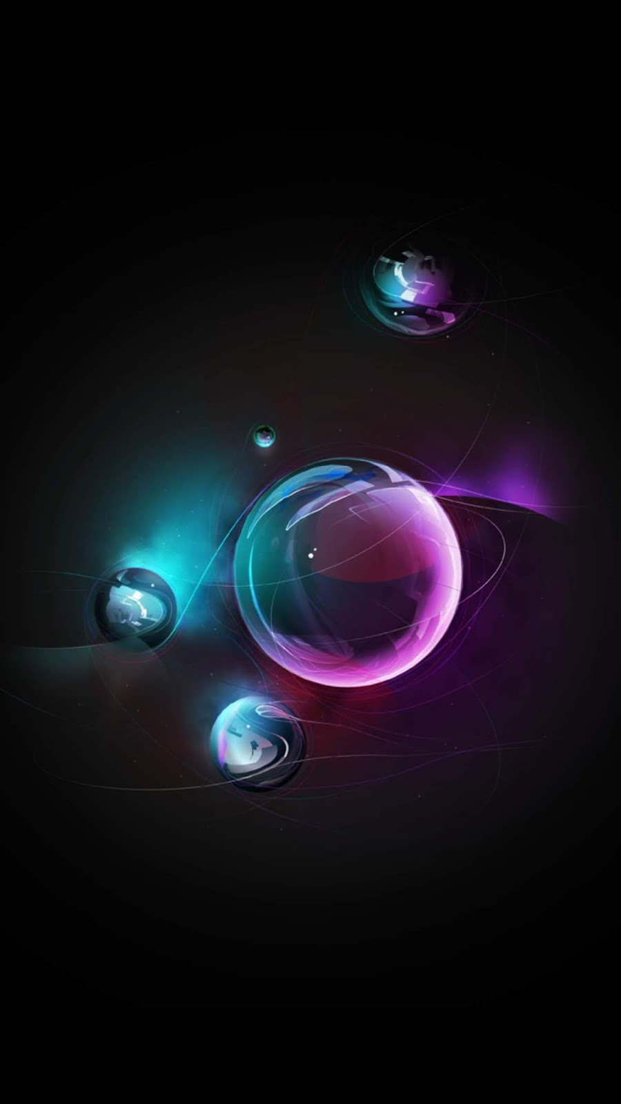 Bubble (Saving battry for Amoled display)