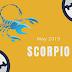 18th May 2019 Scorpio Horoscope