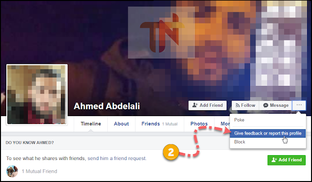 fake facebook account