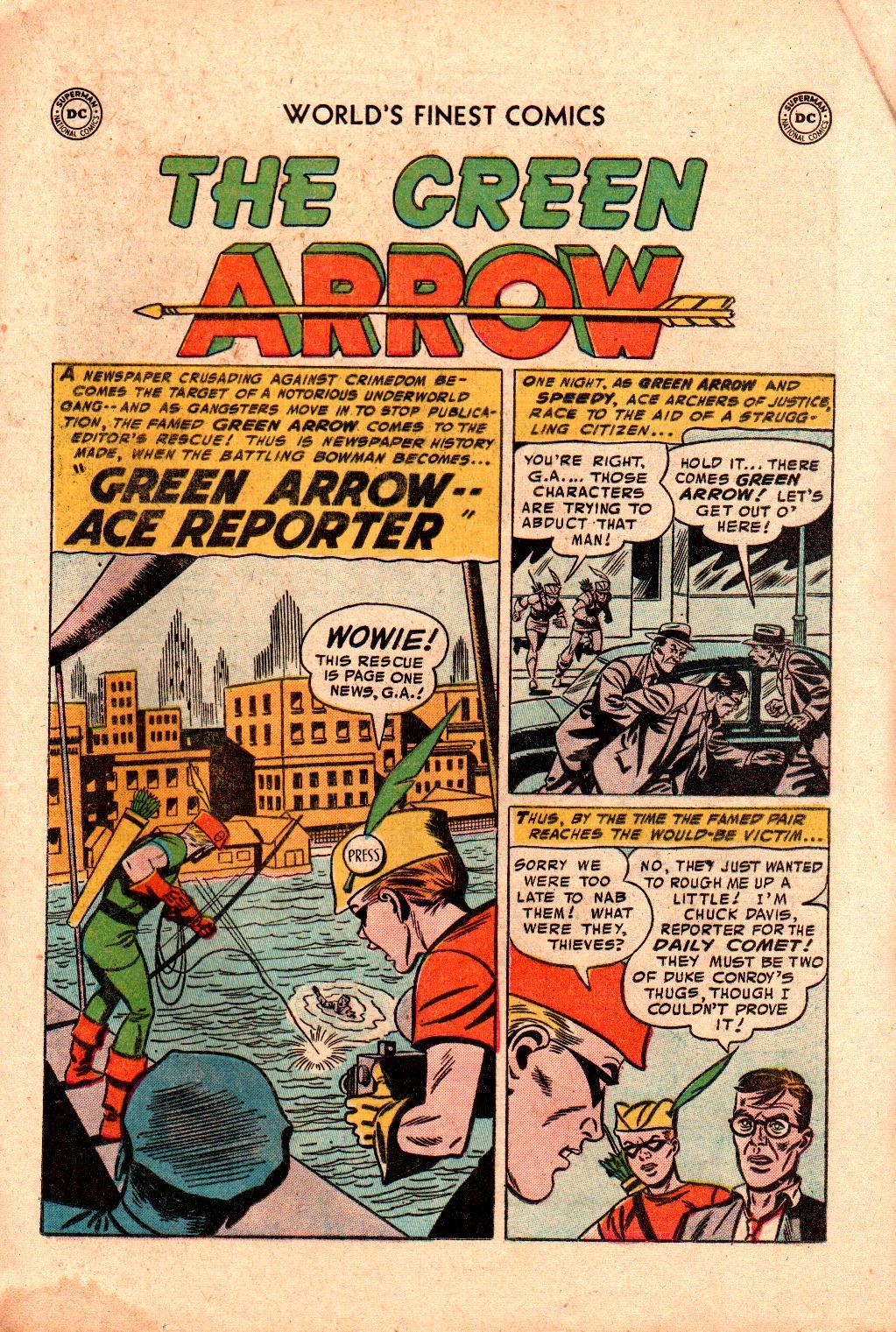 Read online World's Finest Comics comic -  Issue #78 - 17