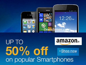 Mobiles Upto 50% off