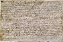 The History of Magna Carta of 1215