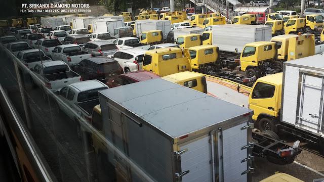 paket kredit dp ringan mobil dump truck colt diesel 2019