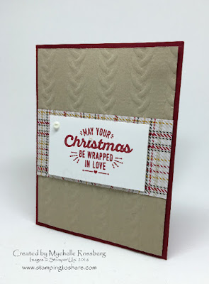 Wrapped in Warmth Stampin' Up!