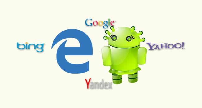 Android Edge'de Varsayılan Arama Motorunu Değiştir-www.ceofix.com