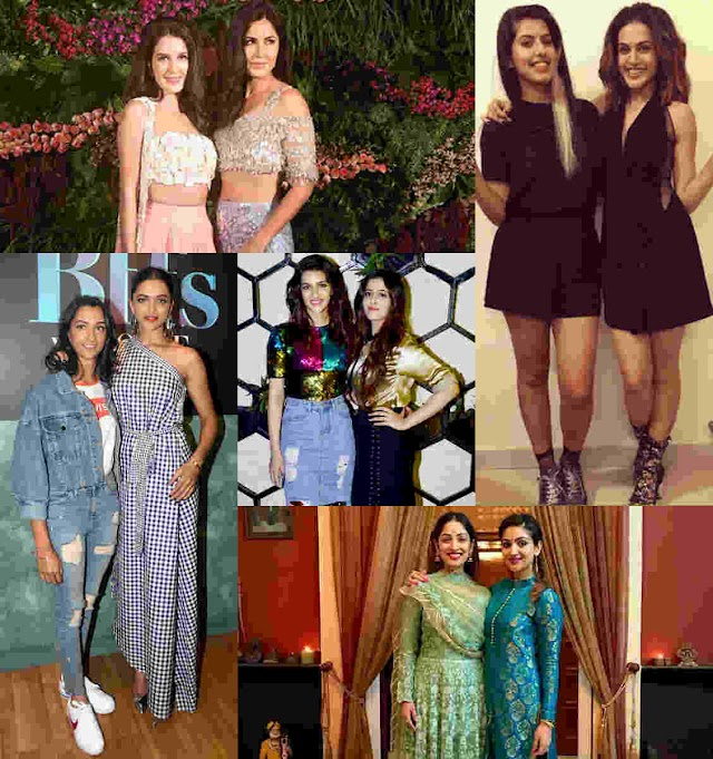Hot and Glamorous sister duos of Bollywood!