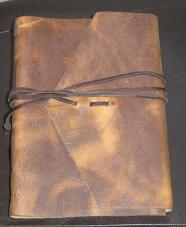 My Journals:  Handmade leather wonder