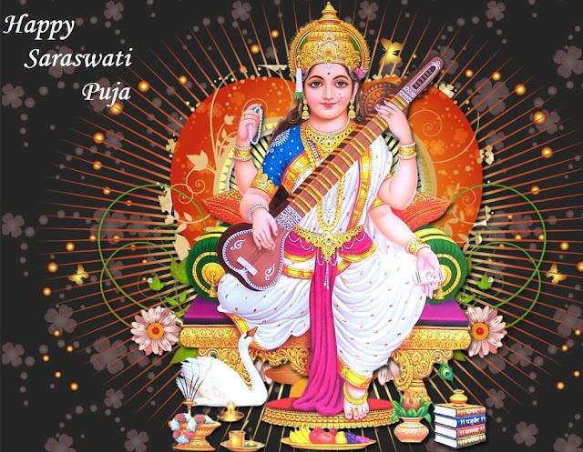 Happy Saraswati Puja 2018