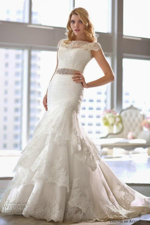 Hermosa Vestidos De Novia Corto Australia Ideas Ornamento ...