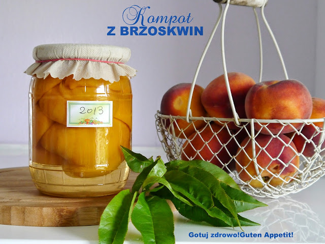 Kompot z brzoskwiń, zalety zdrowotne brzoskwiń - zimowe zapasy - Czytaj więcej »