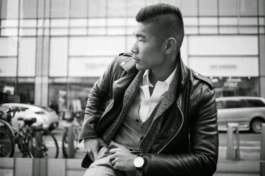 Levitate Style, Leo Chan - Ways to Wear a Leather Jacket Layers
