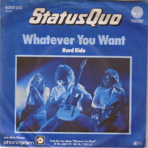 Status Quo - Whatever you want. Single