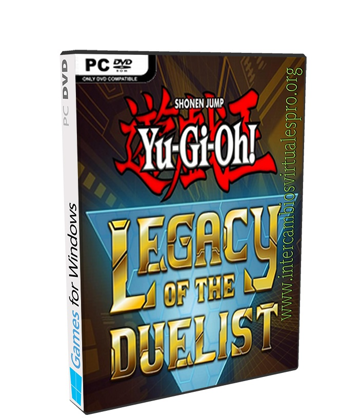 YU-GI-OH LEGACY OF THE DUELIST poster box cover
