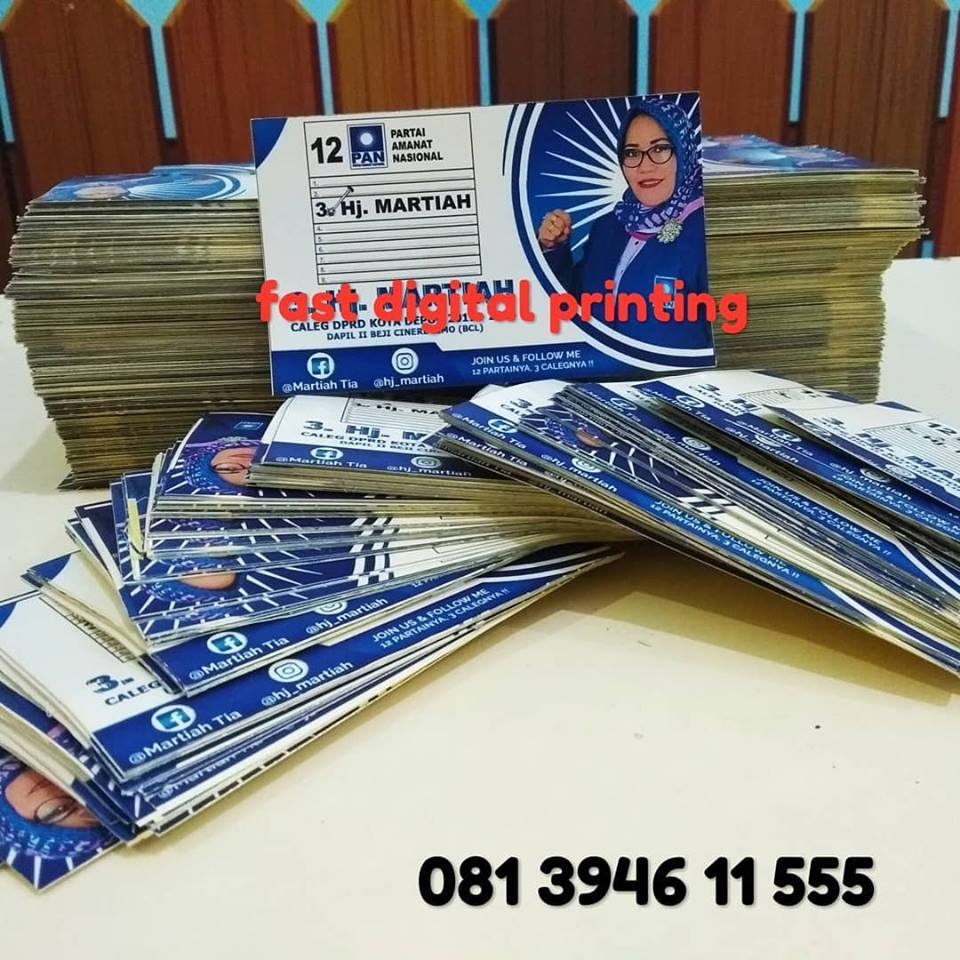 Fast Digital Printing Cetak Stiker Caleg Depok