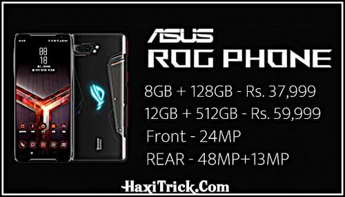 Asus Rog Phone Launch Date Price Feature Hindi India