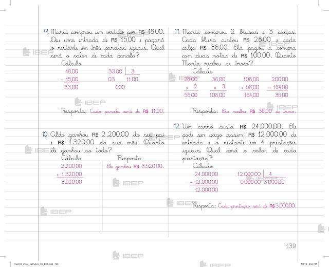Caderno Do Futuro 5 Ano Editora Ibep