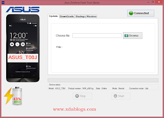 Asus Zenfone Flash Tool for all Asus models