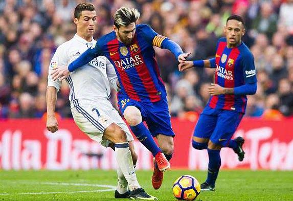 ترددات القنوات المفتوحة الناقلة لمباراة الكلاسيكو برشلونة وريال مدريد وموعد المباراة 16/08/2017