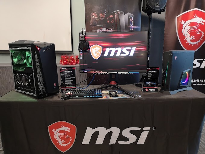 ESGS 2018: MSI Conducts Short Motherboard and Graphics Card Seminar, Intros New Pre-builts