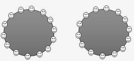 formasi duduk lingkaran
