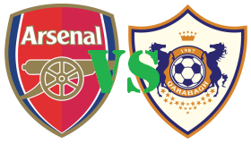 BOCORAN BOLA ARSENAL Vs QARABAG