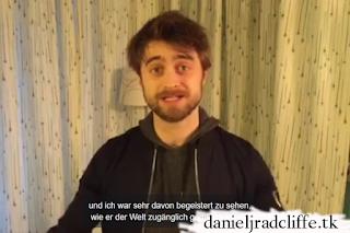 Updated: 15 years Koch Films: Daniel Radcliffe's birthday message