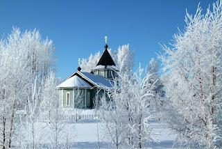Сибирь зимой фото