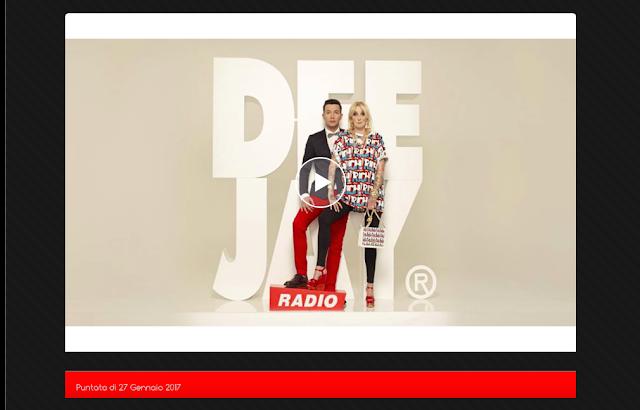 Pinocchio Radio Deejay: puntata del 27 Gennaio 2017