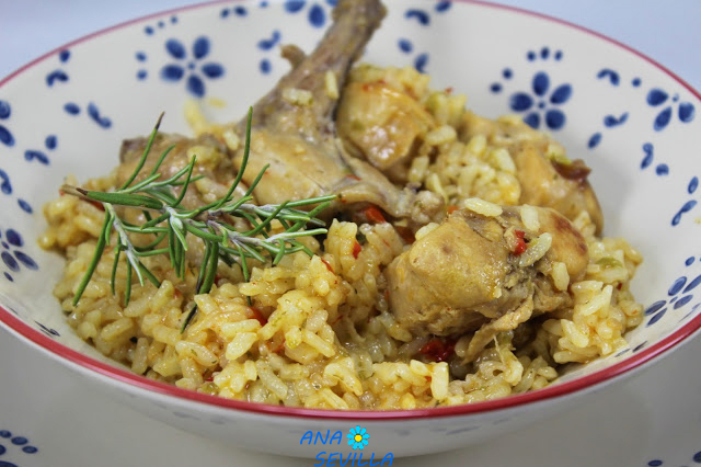 Arroz con conejo Thermomix