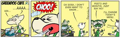 Achoo: Pesto and Rhinitis: Just say no