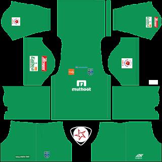 2018-2019 Kerala Blasters FC DLS Kits