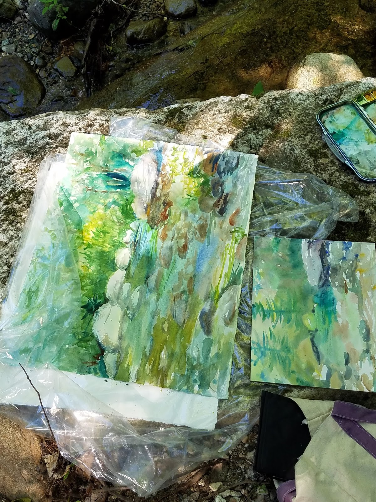 Libby 39 s art ohio plein air show and w oh watercolor shows for Art and craft shows in ohio