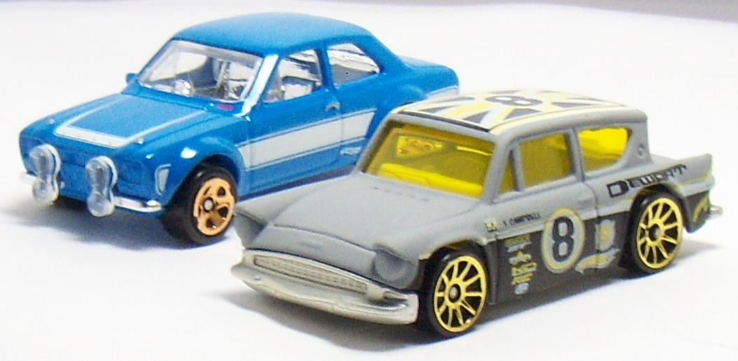 The era of Ford Escort's: From Hot Wheels Ford Anglia to the Matchbox RS  Cosworth