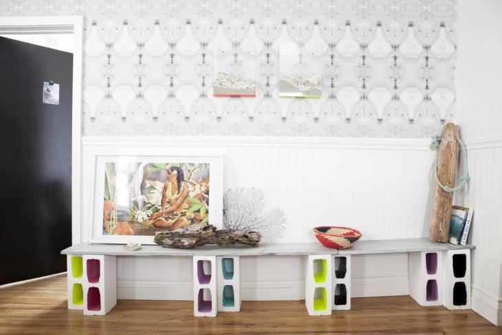Inmuebles y turismo decoraci n con tablas y bloques for Bloques decorativos