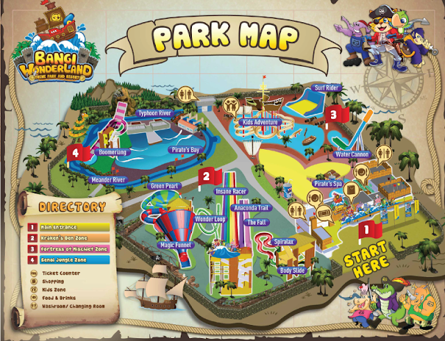 Harga Tiket Bangi Wonderland Theme Park Terkini 2018