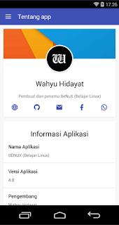 Benux, Aplikasi Belajar Linux di Android