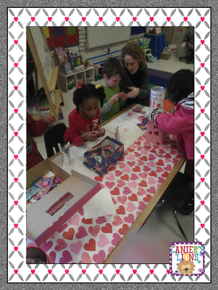 Last But Not Least Our Valentines Day Craft By The Wonderful Miss Kindergarten The Kids Did An Amazing Job Following Directions And Putting This Cute