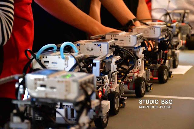 Τρίτη θέση για το 3ο Δημοτικό Ναυπλίου στον 5ο Περιφερειακό Διαγωνισμό Πελοποννήσου Εκπαιδευτικής Ρομποτικής (αποτελέσματα)